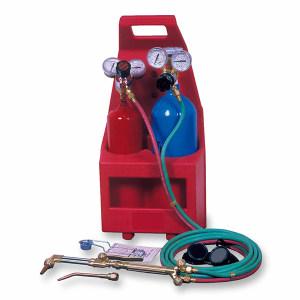GENTEC/捷锐 氧气、丙烷焊割便携式气瓶焊接与切割成套工具(塑料箱包装 无气瓶 无轮) PT-N 1组
