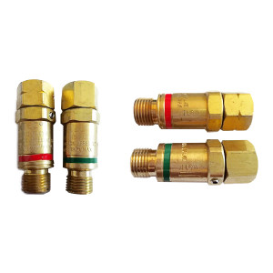 GENTEC/捷锐 气体回火防止器 焊割炬 FA7TO 氧气 9/16-18RH 1个