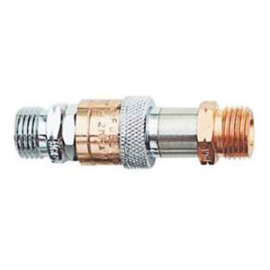 GENTEC/捷锐 防逆快速接头 HH55X 氧气 进气G3/8-RH(M) 出气G3/8-RH(M) 1个