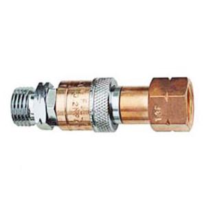 GENTEC/捷锐 防逆快速接头 氧气,进气5/16HOSE,出气M16-1.5RH(F) HT93X 1个