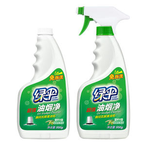LVSAN/绿伞 超强油烟净套装 6922365800016 正装500g+替换装500g 绿橄榄香型 1套
