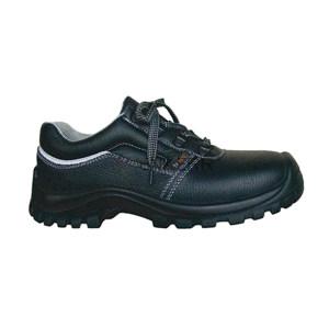 SAISI/赛狮 通用系列低帮牛皮安全鞋 G11 41码 黑色 防砸防刺穿防静电 1双