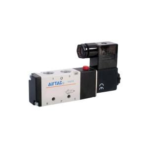 AIRTAC/亚德客 4V200系列电磁阀 4V21006B 两位五通 DIN插座式 接口Rc1/8 DC24V 1个