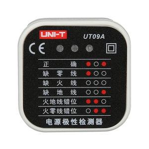 UNI-T/优利德 电源极性检测器 UT09A 测试插座额定电压 250V 交流 1台