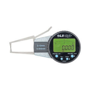 QL/青量 电子外卡规 QL-507-11-012 (A型) A型测量面 行程10mm 0-10mm 不代为第三方检测 1把