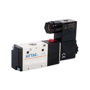 AIRTAC/亚德客 3V200系列电磁阀 3V21006NCA 两位三通 DIN插座式 接口Rc1/8 AC220V 1个