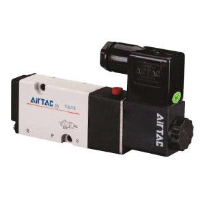 AIRTAC/亚德客 4M系列电磁阀 4M31008A 两位五通 DIN插座式 接口Rc1/4 AC220V 1个