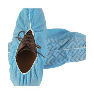 AMMEX/爱马斯 无纺布鞋套 BOOTIESC 均码 蓝色 1袋