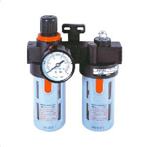AIRTAC/亚德客 BFC系列二联件 BFC4000A1 过滤精度40μm 压力范围0.15~0.9MPa 接口Rc1/2 自动排水式 附压力表 附支架 1套