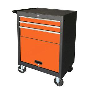 AIWIN 3抽带门可移动工具箱 TC2703A 688×460×1006mm 内含3个抽屉加1个开门柜 1个
