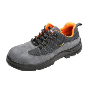 AEGLE/羿科 舒透款灰色非金属安全鞋 60725108 42码 防砸绝缘 PC包头 1双
