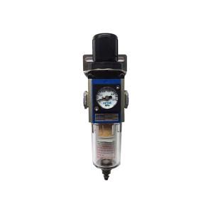 AIRTAC/亚德客 GFR400系列调压过滤器 GFR40015F1 过滤精度40μm 接口Rc1/2 差压排水式 附压力表 1个