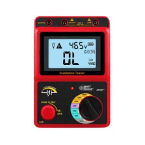 SMART SENSOR/希玛仪表 数字兆欧表/电子摇表/绝缘电阻测试仪 AR907+ 1000V 不支持第三方检测/计量 1台