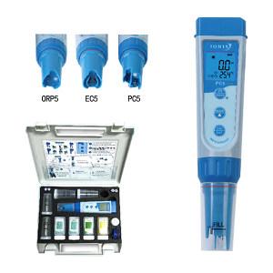 SANXIN/三信 笔式电导率仪 EC5 0~200.0μS/cm/0~2000μS/cm/0~20.00mS/cm/0.1PPM~10.00PPT/0~10.00PPT/0~50.0℃ 1台