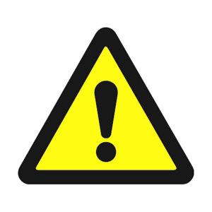 SAFEWARE/安赛瑞 GB安全警示标签(注意安全) 32810 边长100mm 1包