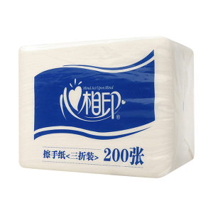 MIND ACT UPON MIND/心相印 商用擦手纸 CS001 225×215mm 200抽×20包 1箱