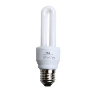 FSL/佛山照明 2U节能灯 11W E27 6500K 白光 1个