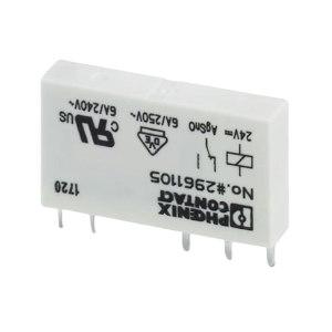 PHOENIX CONTACT/菲尼克斯 REL系列插拔式微型功率继电器 REL-MR-24DC/21 1个