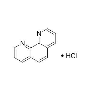 MACKLIN/麦克林 邻菲罗啉盐酸盐 P816078-10g CAS号:3829-86-5 规格:AR 97.0 % 10g 1瓶