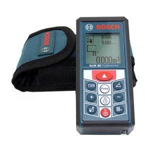 BOSCH/博世 手持激光测距仪 GLM80 测距80m 可充电 测角度 红外线 高精度电子尺 1台