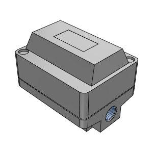 SMC ADM200系列电动式自动排水器 ADM200-042 压力范围0~10bar 进出接口Rc1/2-Rc3/8 1个