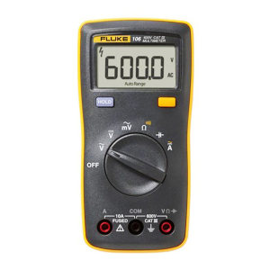 FLUKE/福禄克 掌上数字万用表 FLUKE-106 电压、电阻、电流、电容 输入端子可用于测量交流和直流电流 数据保持 1台