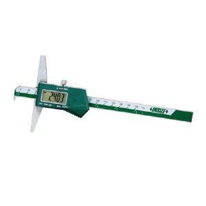 """INSIZE/英示 带钩数显深度尺 1142-300A 0-300mm/0-12"""" ±0.04mm 1把"""