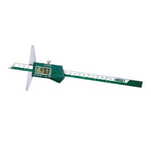 """INSIZE/英示 针头数显深度尺 1143-200A 0-200mm/0-8"""" ±0.03mm 1把"""