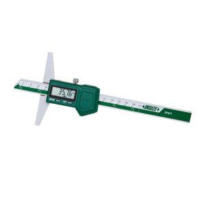 """INSIZE/英示 防水数显深度尺 1149-200 0-200mm/0-8"""" ±0.03mm 1把"""