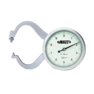 INSIZE/英示 测厚规 2863-10 0-10mm ±0.1mm 1把