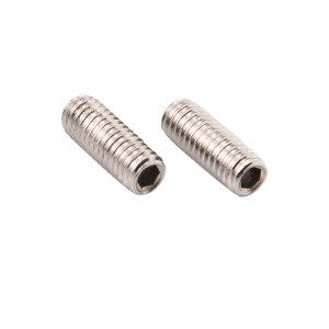 TONG/东明 DIN913 内六角平端紧定螺钉 不锈钢304 A2-12H 本色 217913004000800000 M4×8 400个 1包