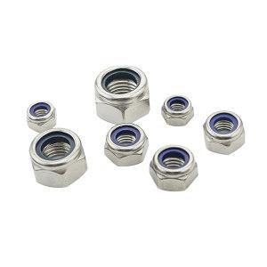 TONG/东明 DIN985 非金属(尼龙)六角锁紧薄螺母 不锈钢316 A4-80 本色 224512012000000000 M12 140个 1盒