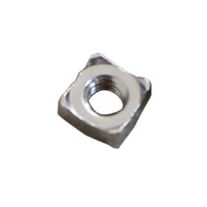 TONG/东明 四方焊接螺母 304 本色 M5 DIN928 1盒