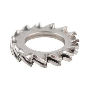 TONG/东明 GB862.2 外锯齿锁紧垫圈 不锈钢304 本色 210088010000000000 φ10 500个 1包