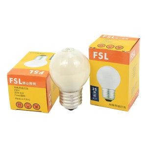 FSL/佛山照明 白炽灯 钨丝球形灯泡 特殊用途灯泡 磨砂 15W E27 230V  1只