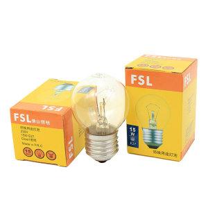 FSL/佛山照明 白炽灯 钨丝球形灯泡 特殊用途灯泡 透明 40W E27 220~230V  1只