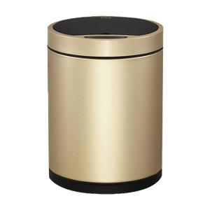 EKO 多可自动感应环境桶 EK9285CG-9L φ25×34.5cm 9L 香槟金 1个