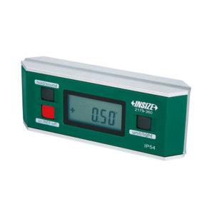 INSIZE/英示 数显水平倾角仪 2179-360 0-360° (90°x4) 0.05°(=0.873mm/m) 带磁防水,不代为第三方检测 1台