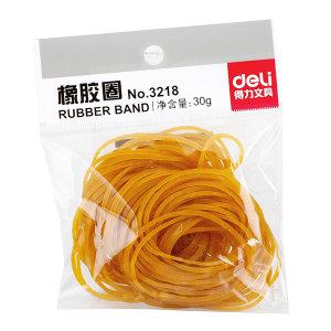 DELI/得力 橡胶圈 3218 30g 黄色 1包