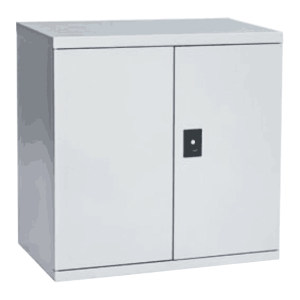 XG/信高 两层板储物柜 XB82-ZW 900×450×900mm 层板承载150kg 工业灰色RAL7035 1个