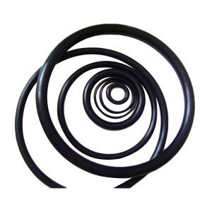 FZ/弗兆 丁腈橡胶O形圈 2.4*9.8 丁腈橡胶 2.4*9.8 NBR70 5个/包 1包