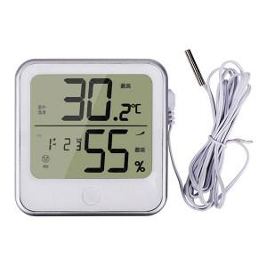 DELI/得力 电子温湿度计(白) 8959 1个