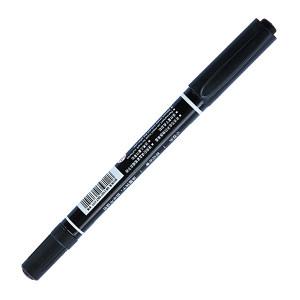 DELI/得力 小双头记号笔 6824 0.5/1.0mm 黑色 1支