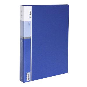 DELI/得力 资料册 5005 60页 蓝色 1本