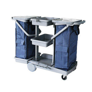 CT/施达 物料处理型清洁服务车 JT 200 1340×655×980mm 灰色 塑料材质 1台