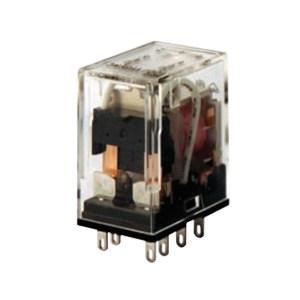 OMRON/欧姆龙 MY-GS系列微型功率继电器 MY2N-GS AC24 BY OMZ/C 1个