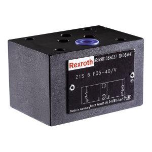 REXROTH/力士乐 Z1S系列叠加式单向阀,Z1S6P30-4X/V,R901086052 R901086052 Z1S6P30-4X/V 1个