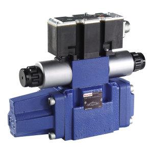 REXROTH/力士乐 4WRZE系列比例换向阀,带集成式电子设备,4WRZE10W8-85-7X/6EG24N9ETK31/F1D3M,R900724781 R900724781 4WRZE10W8-85-7X/6EG24N9ETK31/F1D3M 1个