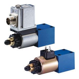 REXROTH/力士乐 DBETE系列比例溢流阀(带集成电控器) R901103801 通径6mm 压力范围0~200bar 额定流量2L/min DBETE-6X/200YG24K31F1V 1个