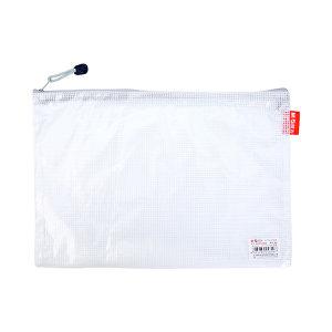 M&G/晨光 A4经济型网格拉链袋 ADM94905 A4 颜色随机 1只